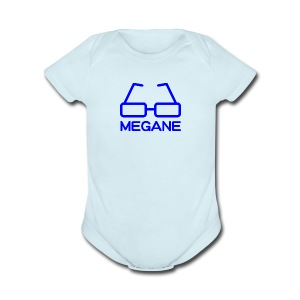 MEGANE - Short Sleeve Baby Bodysuit
