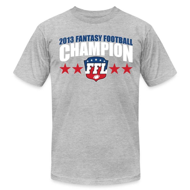 Fantasy football champion 2013 t shirt spreadshirt for Fantasy football league champion shirt
