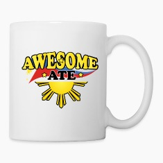 Funny Damit Awesome Ate Bottles & Mugs