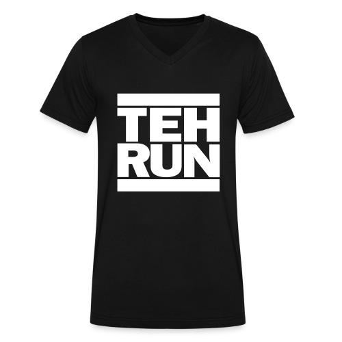 TEHRUN (V-Neck) by KAMY KAYNE - Men's V-Neck T-Shirt by Canvas
