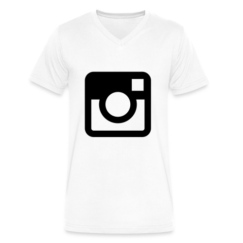 Instagram Shirt - Men's V-Neck T-Shirt by Canvas