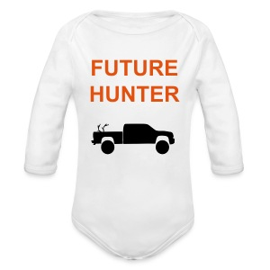 Future Hunter - Long Sleeve Baby Bodysuit