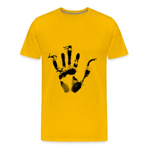 Handprint T-Shirt - Men's Premium T-Shirt