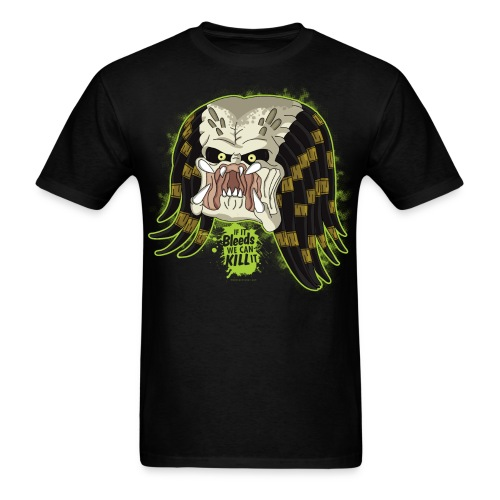 Hunter from United States Father Cartoon - Men's T-Shirt