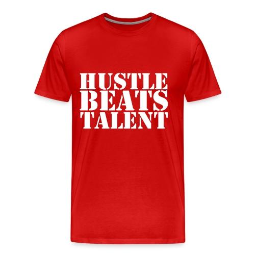 Mens Hustle Beats Talent T-Shirt - Men's Premium T-Shirt
