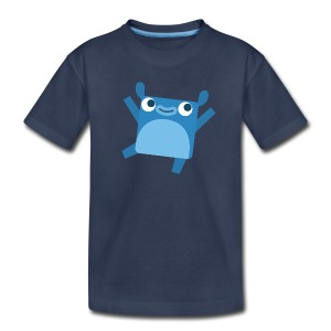 Toddler's Little Blue Tee - Toddler Premium T-Shirt
