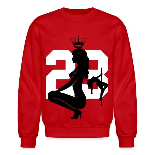 Jordan 23 Stripper Girls Crewneck  - Crewneck Sweatshirt