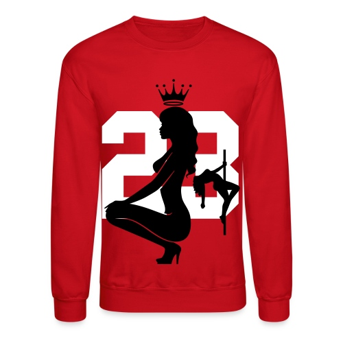 Jordan 23 Stripper Girls Crewneck  - Crewneck Sweatshirt