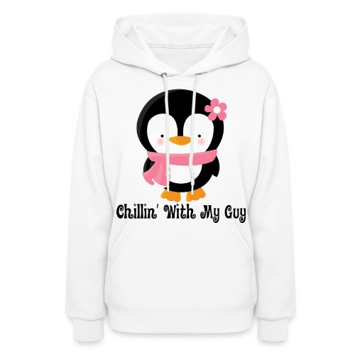 Chilling with my guy - Women's Hoodie