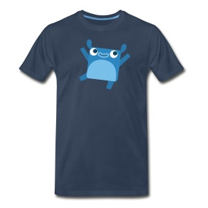 Men's Little Blue Tee - Men's Premium T-Shirt