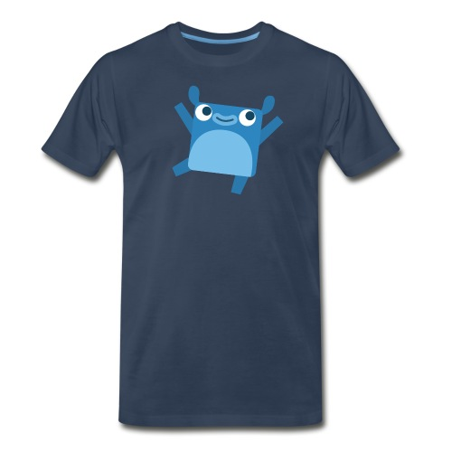 Men's Little Blue Tee - Men's Premium T-Shirt