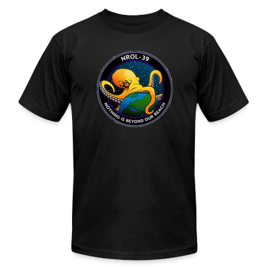 NROL-39 Nothing is Beyond Our Reach NRO Octopus T-Shirts