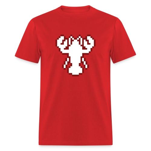 Pixel Lobster M [Red] - Men's T-Shirt