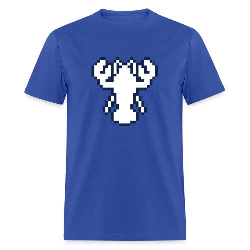 Pixel Lobster M [Blue] - Men's T-Shirt