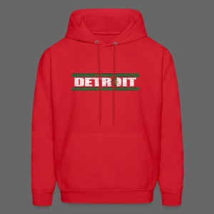 Algerian Detroit National Flag - Men's Hoodie