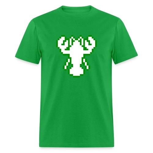 Pixel Lobster M [Green] - Men's T-Shirt