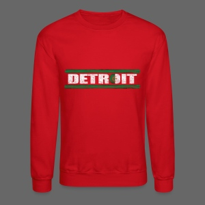 Algerian Detroit National Flag - Crewneck Sweatshirt