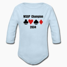 Baby Boy WSOP Shirt