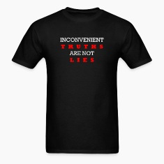 Inconvenient Truths (White and Red) T-Shirts