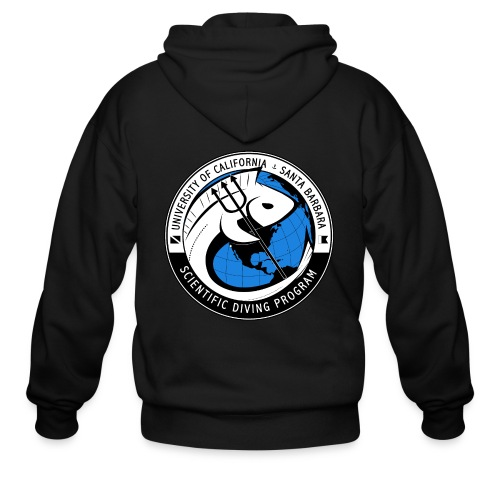 Santa Barbara Scientific Diving Zip-Up Hoodie - Men's Zip Hoodie