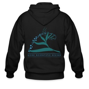 Santa Cruz Scientific Diving Zip-Up Hoodie - Men's Zip Hoodie