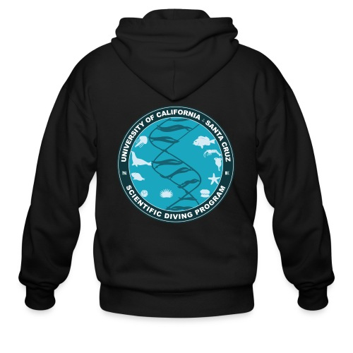 Santa Cruz Classic Remix Scientific Diving Zip-Up Hoodie - Men's Zip Hoodie
