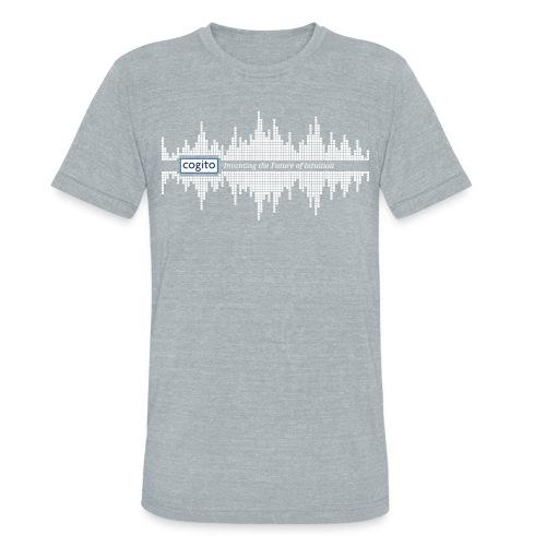 Cogito - Wave Graphic - Unisex Tri-Blend T-Shirt
