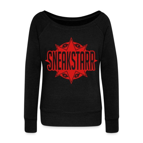 Sneak Starr  - Women's Wideneck Sweatshirt
