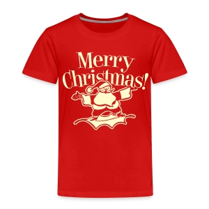 Merry Christmas Santa - Toddlers - Red - Toddler Premium T-Shirt
