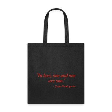 Jean-Paul Sartre on Love Bags & backpacks