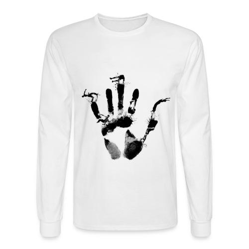 Handprint Long-Sleeve - Men's Long Sleeve T-Shirt