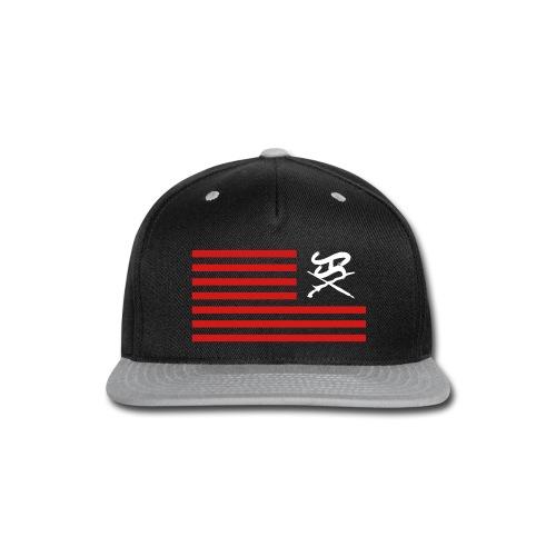 Flag logo snapback - Snap-back Baseball Cap
