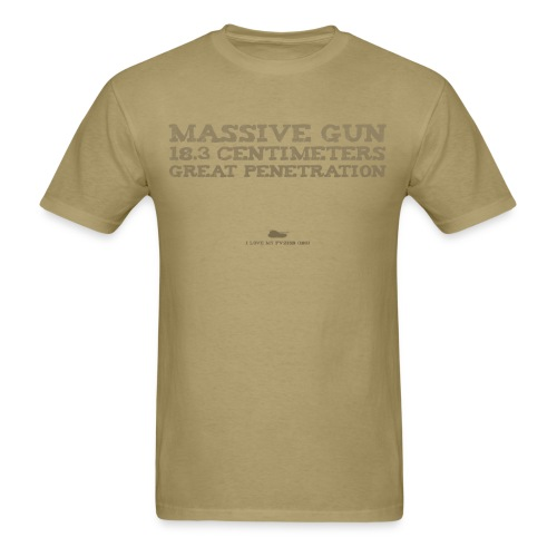 Massive Gun - Men's T-Shirt