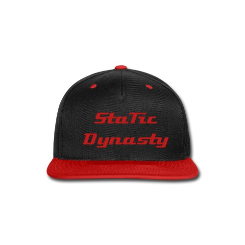StaTic Snap-Back/Red - Snap-back Baseball Cap
