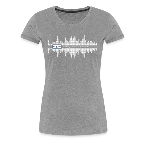 Cogito - Wave Graphic - Women's Premium T-Shirt