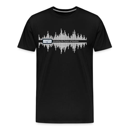 Cogito - Wave Graphic - Men's Premium T-Shirt