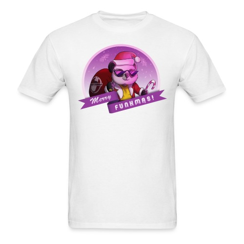 Funky Panda's Merry Funkmas Tee - Men's T-Shirt
