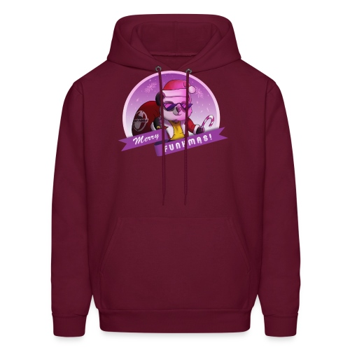 Funky Panda's Merry Funkmas Tee - Men's Hoodie
