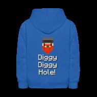 Sweatshirts ~ Kids' Hoodie ~ Kids Hoodie: Diggy Diggy Hole