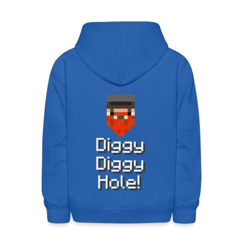 Kids Hoodie: Diggy Diggy Hole - Kids' Hoodie