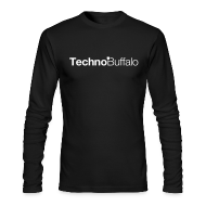 Long Sleeve Shirts ~ Men's Long Sleeve T-Shirt by Next Level ~ TechnoBuffalo Long Sleeve Guys (American Apparel)