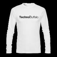 Long Sleeve Shirts ~ Men's Long Sleeve T-Shirt by American Apparel ~ TechnoBuffalo Long Sleeve Guys Light (American Apparel)
