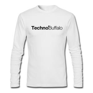 TechnoBuffalo Long Sleeve Guys Light (American Apparel) - Men's Long Sleeve T-Shirt by Next Level