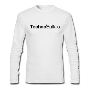 TechnoBuffalo Long Sleeve Guys Light (American Apparel) - Men's Long Sleeve T-Shirt by Next Level