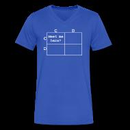 T-Shirts ~ Men's V-Neck T-Shirt by Canvas ~ Article 14127826