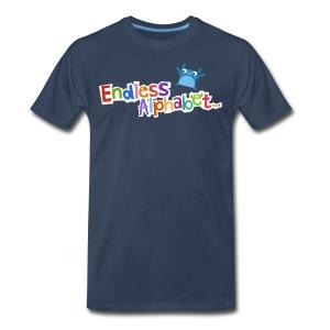 Men's Endless Alphabet Tee - Men's Premium T-Shirt