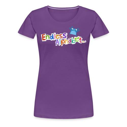 Women's Endless Alphabet Tee - Women's Premium T-Shirt