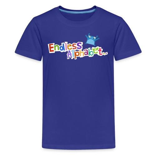 Kid's Endless Alphabet Tee - Kids' Premium T-Shirt