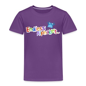 Toddler's Endless Alphabet Tee - Toddler Premium T-Shirt
