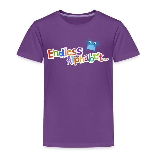 Toddler's Endless Alphabet Tee - Toddler Premium T-Shirt